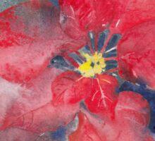Poinsettia Sticker
