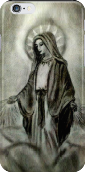 Saint Mary Iphone / Ipod Case by MarinaArts