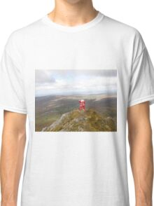 Santa on Errigal Mountain Donegal Ireland Classic T-Shirt