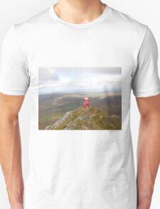 Santa on Errigal Mountain Donegal Ireland Unisex T-Shirt