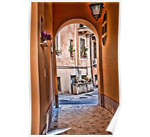 ROME : - ENTRANCE TO THE YARD... Poster