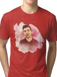 jacksepticeye watercolor splash Tri-blend T-Shirt