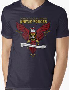 United Forces Insignia Mens V-Neck T-Shirt