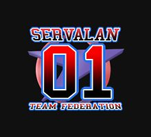 Team Federation: SERVALAN Womens Fitted T-Shirt