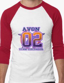 Team Liberator: AVON Men's Baseball ¾ T-Shirt