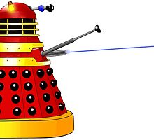 Dalek Attack by Chris Singley