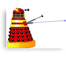 Dalek Attack Canvas Print