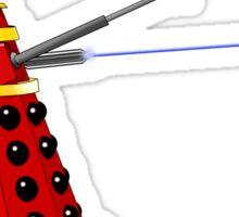 Dalek Attack Sticker