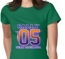 Team Liberator: CALLY Womens Fitted T-Shirt
