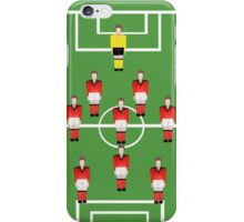 Soccer team, football players iPhone Case/Skin