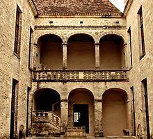 Cour de château by Wintermute69
