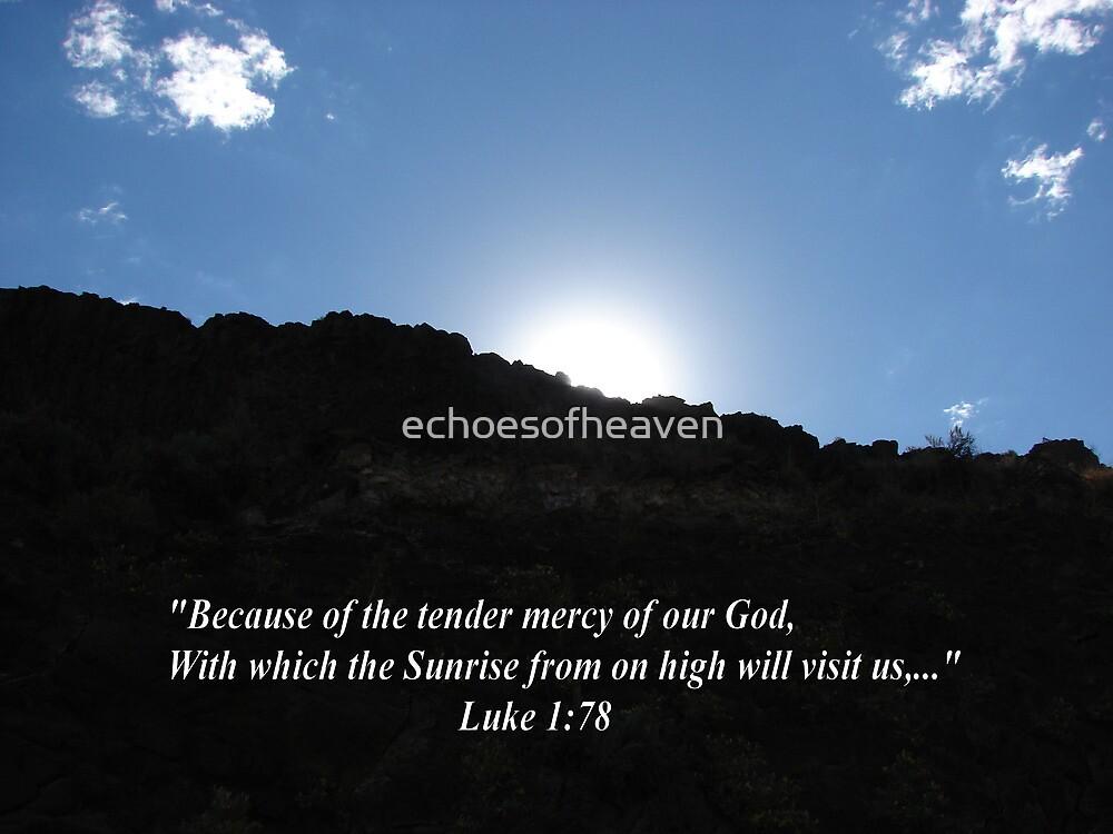 """""""Luke 1:78""""  by Carter L. Shepard by echoesofheaven"""