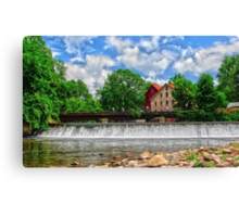 A view from the River # 2 Canvas Print