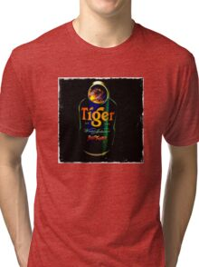 Sagat Street Fighter Tiger Tri-blend T-Shirt