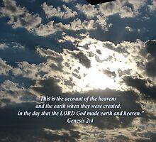 """""""Genesis 2:4""""  by Carter L. Shepard by echoesofheaven"""
