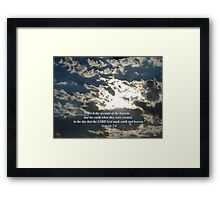 """Genesis 2:4""  by Carter L. Shepard Framed Print"