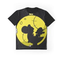 Crayon Moon Graphic T-Shirt