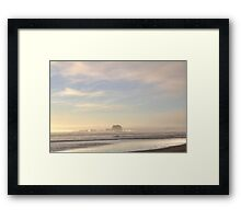 Foggy Evening Framed Print