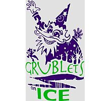 GRUBLETS ON ICE SHIRT BLADES OF GLORY Photographic Print