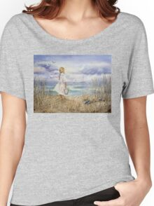 Girl and the Ocean Women's Relaxed Fit T-Shirt