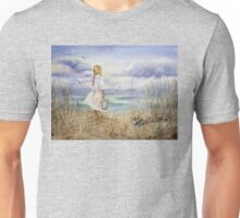 Girl and the Ocean Unisex T-Shirt