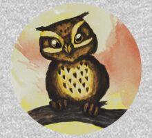 Cute owl. One Piece - Long Sleeve