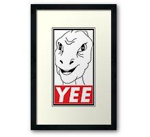 YEE Framed Print
