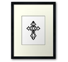 Designed Faith Framed Print