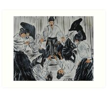 """Aikijutsu""  by Carter L. Shepard Art Print"