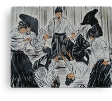 """Aikijutsu""  by Carter L. Shepard Canvas Print"