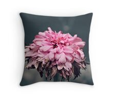 Winsomely Wilted Throw Pillow
