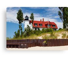 Pointe Betsie Lighthouse, Michigan Canvas Print