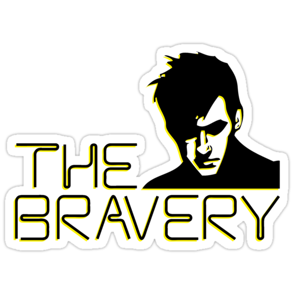 The Bravery Band Tee by Derrick Hunt