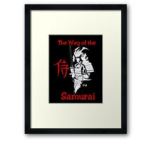 """SAMURAI""  by Carter L. Shepard Framed Print"