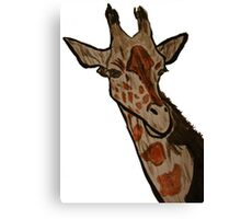 """Giraffe""  by Carter L. Shepard Canvas Print"