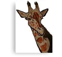 """Giraffe""  by Carter L. Shepard Canvas Print"