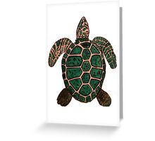 """Turtle""  by Carter L. Shepard Greeting Card"
