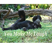 """You Make Me Laugh""  by Carter L. Shepard Photographic Print"