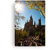 Hogwarts Seasons Canvas Print