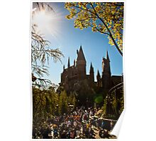 Hogwarts Seasons Poster