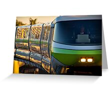 Monorail Monday - The Human Element Greeting Card