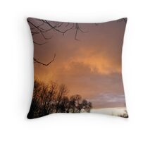As the storm passes Throw Pillow