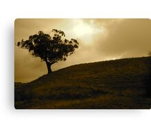 Perfectly Lonely Canvas Print