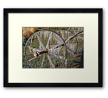 Pastures of Ice #2 Framed Print