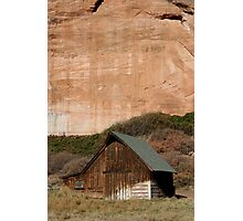 Old Barn in the Desert #1 Photographic Print