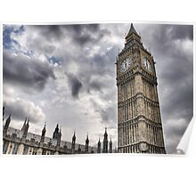 Big Ben goes Gothic Poster