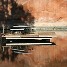 Reflecting Picnic Table by KelseyGallery