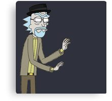 Walter White/Rick Sanchez cross over Canvas Print