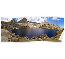Columbine Lake Panorama Poster