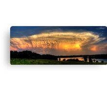 Sunset Cloud Canvas Print